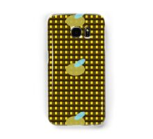 Bumble Bee Grid Samsung Galaxy Case/Skin