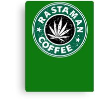 RASTAMAN COFFEE Canvas Print