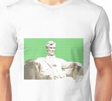 Lincoln memorial - Green Unisex T-Shirt