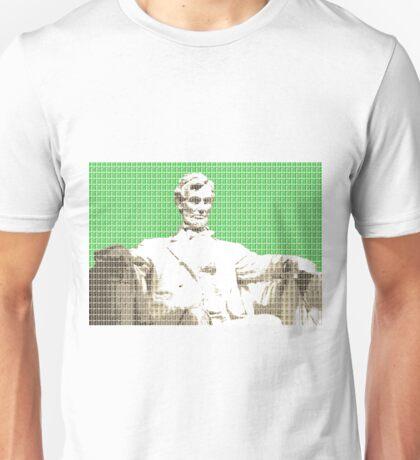 Lincoln memorial - Green Unisex T-Shirt