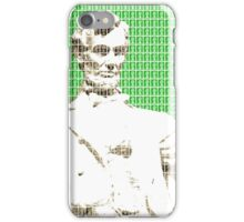 Lincoln memorial - Green iPhone Case/Skin