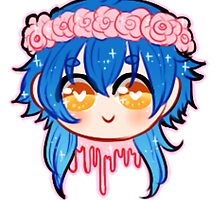 Flowercrown Aoba by PastelQueen