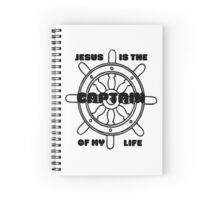 Jesus is the captain of my life  Spiral Notebook