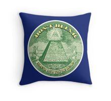 DON'T BLINK!  Throw Pillow