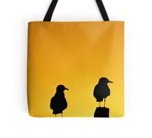 SEAGULL-SUNSET-0132 Tote Bag