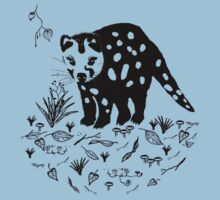 Marsupial Cat - The Spotted Tailed Quoll Baby Tee