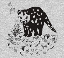 Marsupial Cat - The Spotted Tailed Quoll One Piece - Long Sleeve