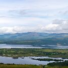 beautiful panorama from the kerry way by morrbyte