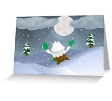 Snover Greeting Card