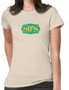Vintage 80's Womens Fitted T-Shirt