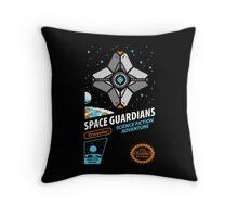 RETRO SPACE GUARDIANS Throw Pillow
