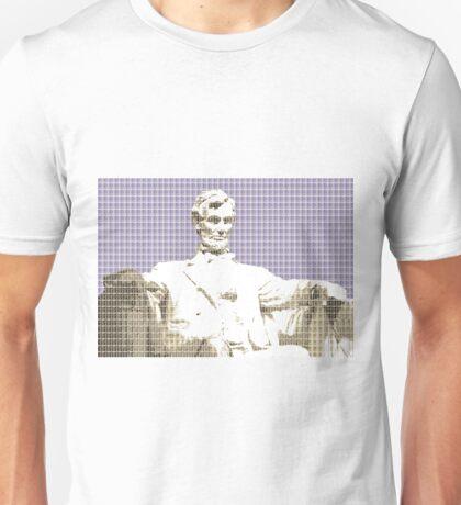 Lincoln memorial - Violet Unisex T-Shirt