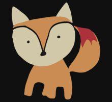 Cute little fox One Piece - Short Sleeve