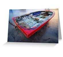 Forgotten Dinghy Greeting Card
