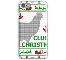 Clucky Christmas iPhone Case/Skin