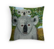 Koalas, Australia.   Throw Pillow