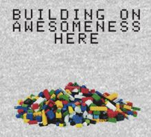Building on Awesomeness  One Piece - Long Sleeve