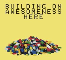 Building on Awesomeness  Kids Clothes