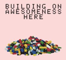 Building on Awesomeness  Baby Tee