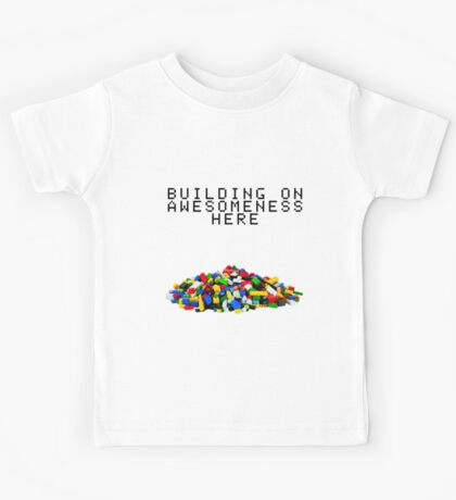 Building on Awesomeness  Kids Tee