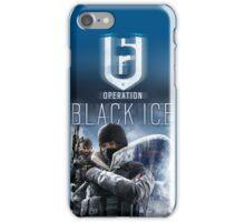 Rainbow Six Siege Operation Black Ice (iPhone) iPhone Case/Skin