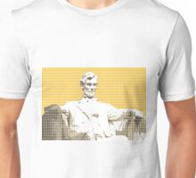 Lincoln Memorial - Yellow Unisex T-Shirt