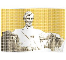Lincoln Memorial - Yellow Poster
