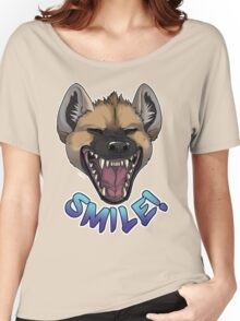 SMILE! Hyena Women's Relaxed Fit T-Shirt