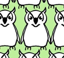 cute owls Sticker