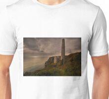 Tin mines at Trewavas head Cornwall Unisex T-Shirt