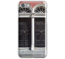 two arched georgian doors iPhone Case/Skin