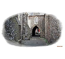 """+"""" A Flint Archway to where ?"""" Photographic Print"""