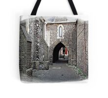 """+"""" A Flint Archway to where ?"""" Tote Bag"""