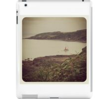 Boat, near Maenporth iPad Case/Skin