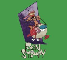 Ren and Stimpy by vagata