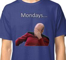 Jean-Luc Picard hates Mondays... Classic T-Shirt