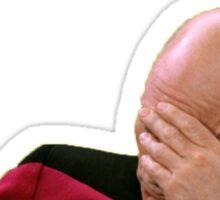 Jean-Luc Picard hates Mondays... Sticker