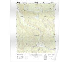 USGS TOPO Map California CA Childs Meadows 20120404 TM geo Poster