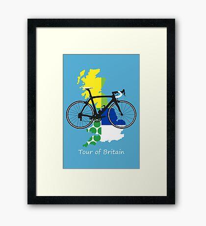 Tour of Britain Framed Print