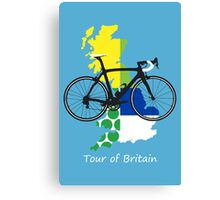 Tour of Britain Canvas Print