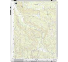 USGS TOPO Map California CA Childs Meadows 20120404 TM geo iPad Case/Skin