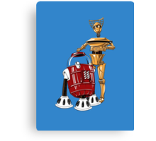 The Bots You're Looking For Canvas Print