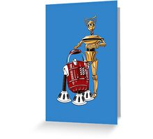 The Bots You're Looking For Greeting Card