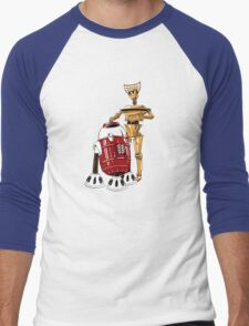 The Bots You're Looking For Men's Baseball ¾ T-Shirt