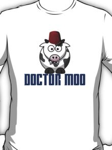 Doctor moo- Fez T-Shirt