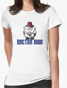 Doctor moo- Fez Womens Fitted T-Shirt