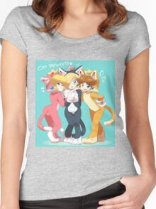 Cat Princess Women's Fitted Scoop T-Shirt