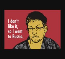 I don't like it, so I went to Russia. by Alex Preiss