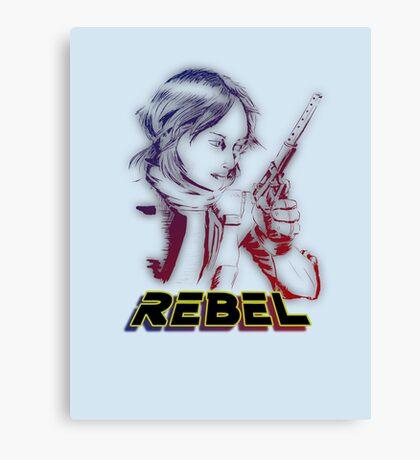 I Rebel - Rogue One Art Canvas Print