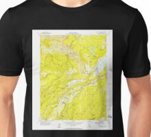 USGS TOPO Map California CA Blue Canyon 288499 1955 24000 geo Unisex T-Shirt